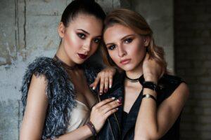 Zwei Fashion Influencer